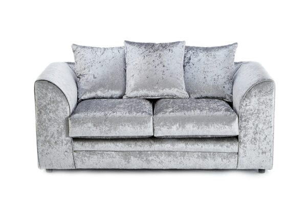 Hatton 2 Seater Silver
