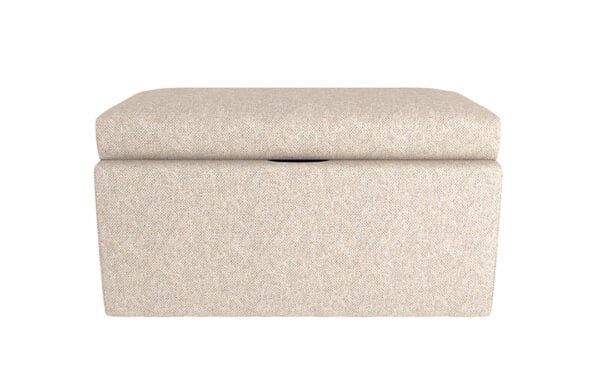 Parker Fabric Storage Ottoman