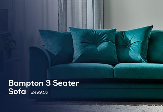 Bampton 3 Seater Sofa display