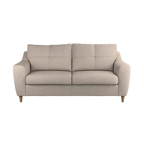 Clarke 3 Seater Natural