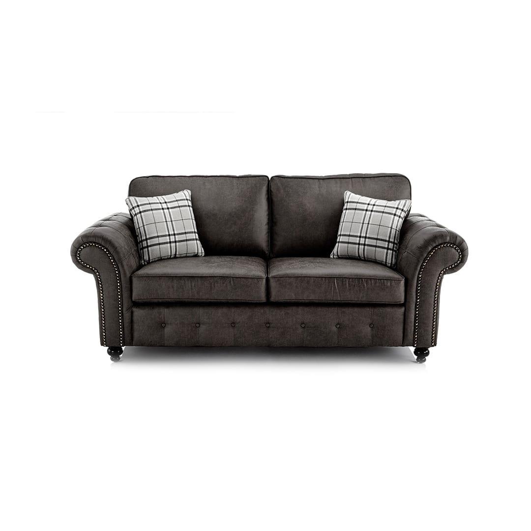 Frinton 3 Seater Sofa Black