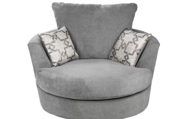 Oakley Swivel Chair Graphite