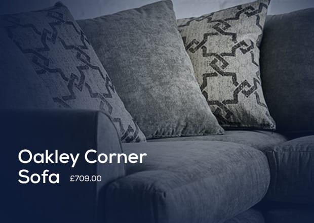 Oakley Corner Sofa Display
