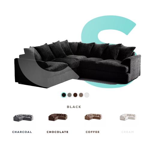 Newport Large Corner Sofa